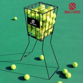 스카로 테니스공 수거기 72볼 바스켓